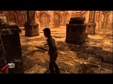 Uncharted 3 Chapter 11 - Temple Entrance Puzzle