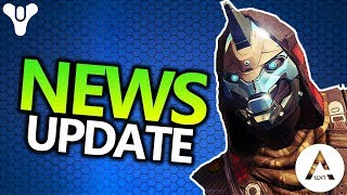 News Info Update 20 | Destiny 2 | New Trailer, Download Size, API info, Game Informer Cover & More