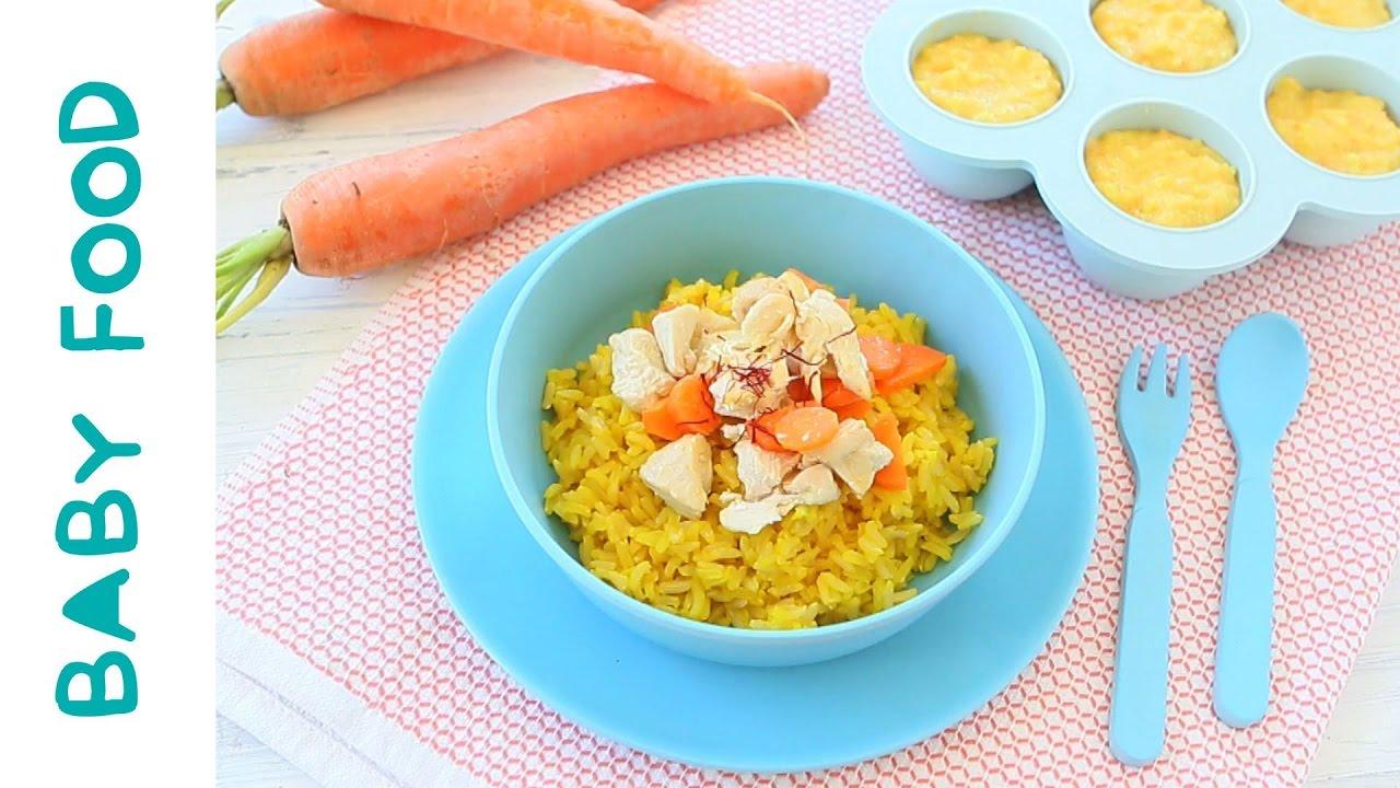 Chicken rice saffron puree baby food recipe 6m youtube chicken rice saffron puree baby food recipe 6m forumfinder Gallery