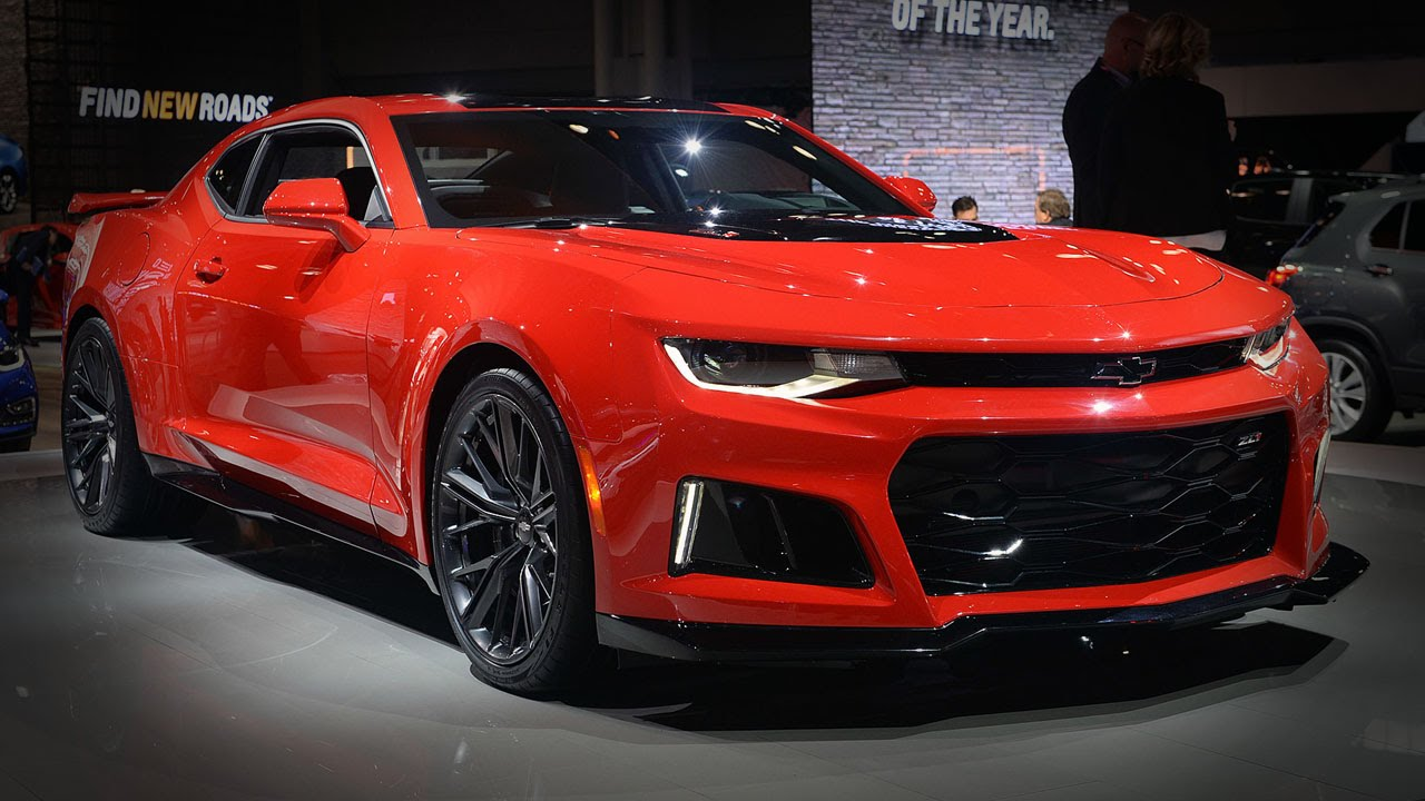 2017 chevrolet camaro zl1 2016 new york auto show youtube. Black Bedroom Furniture Sets. Home Design Ideas