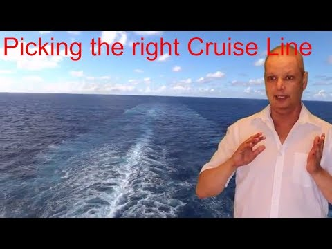 picking the right cruise line
