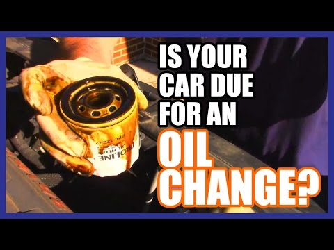 how to change oil in a car video