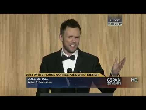 Thumbnail: Joel McHale remarks at 2014 White House Correspondents' Dinner (C-SPAN)