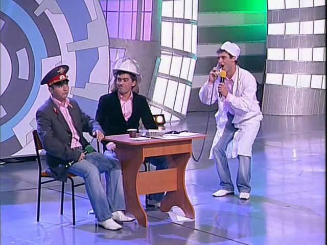 КВН Высшая лига (2007) 1/2 — Пирамида — Музыкалка