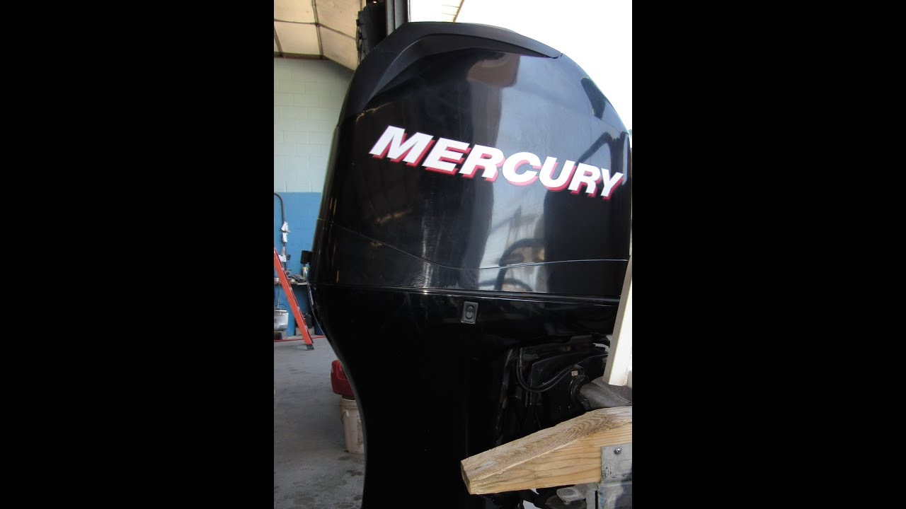1B832273 Used 2010 Mercury 90ELPT 90HP 4-Stroke Outboard Boat Motor 20