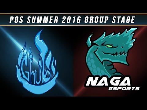 PGS 2016 Summer Split - W4 Day 1 - GHUB vs NAGA