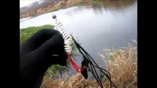 Зацепляемость незацепляйки. И так бывает / And so it happens. Texas rig hitch.(Видео о рыбалке. Техасская оснастка - одна из самых проходимых оснасток для ловли хищника на спиннинг в..., 2014-09-20T22:25:16.000Z)
