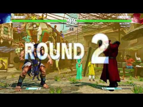 SFV LAST BETA Necalli (takamura) vs Bison (MircoDMC)