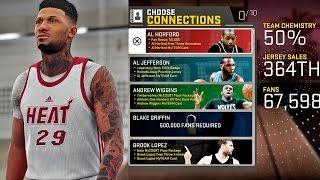 NBA 2K16 MyCAREER - Live Practice | Connections & Endorsements!