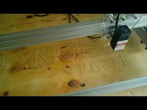 65cm x 50cm 3w 3000mW  Benbox chinese laser engraver