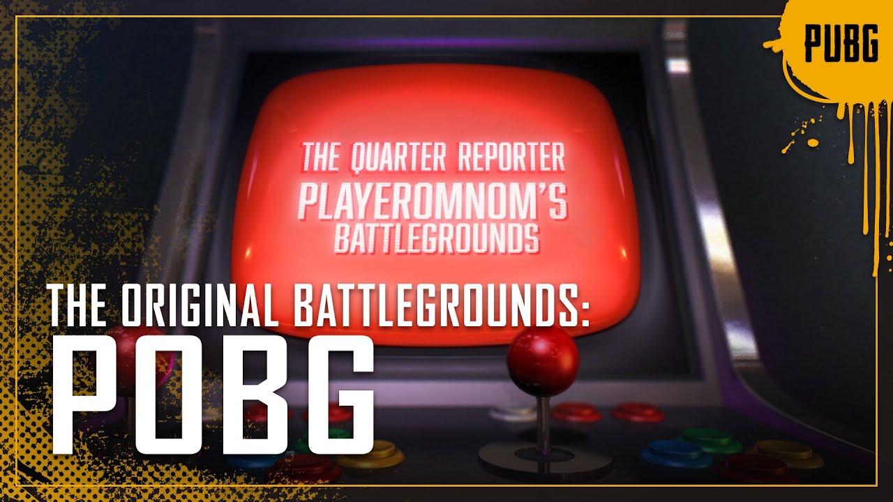 The Original Battlegrounds: POBG | PUBG