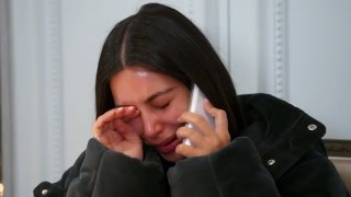 Kim Kardashian BREAKS DOWN After Learning Of Kanye's Concert Meltdown On KUWTK