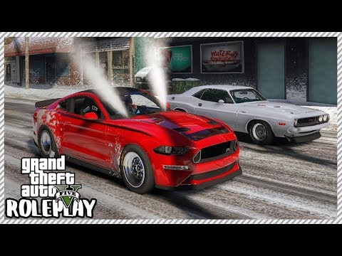 GTA 5 Roleplay - Monster Mustang Drag Dangerous Street Racing | RedlineRP #208 thumbnail