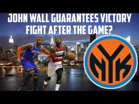 NBA 2K15 My GM Mode - New York Knicks - Facing the Wizards | FIGHT AFTER THE GAME?