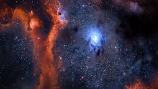 Relaxing Space Ambient Music  3D space visuals  The Starry Sky 2  By Nimanty