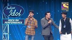 Anu Malik  Hardeep Khuda Stage Join Indian Idol Rock On Performance