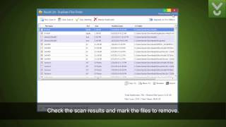 Duplicate File Finder - Remove duplicates from your PC - Download Video Previews
