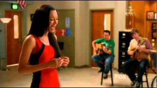 Glee-Santana singing for Finn (If I die young)