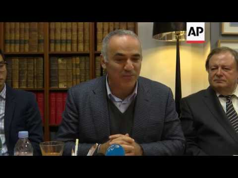 Kasparov slams France over activist extradition