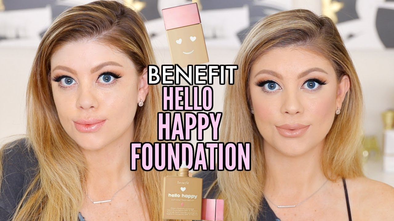 Benefit Hello Happy Soft Blur fondöten incelemesi