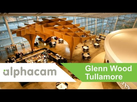 Glenn Wood (Tullamore) uses Alphacam for high profile projects