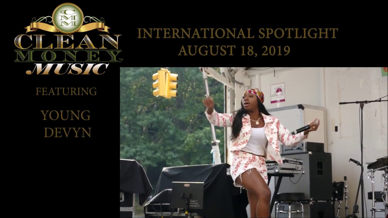 YOUNG DEVYN REPRESENTS FOR CLEAN MONEY MUSIC DURING HARLEM WEEK 2019