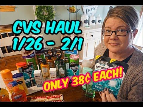 CVS HAUL (1/26 – 2/1) | 36 ITEMS FOR ONLY 38¢ EACH! 🏃🏽♀️