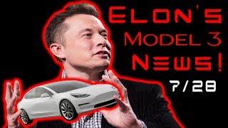 Tesla Model 3 RELEASE DATE!