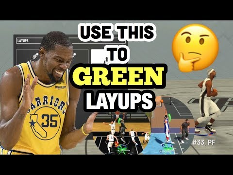 NBA 2K19 EASY GREEN LAyups AFTER PATCH 8 EURO STEP MASTER 🤫