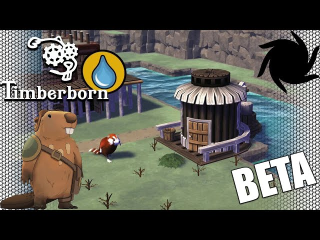 Timberborn Beta - Eager Beavers - Water Pump and More Housing