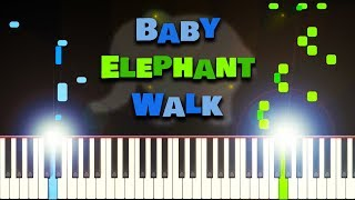 Baby Elephant Walk - Henry Mancini - Piano Tutorial