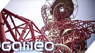 Die längste Tunnelrutsche der Welt | Galileo | ProSieben