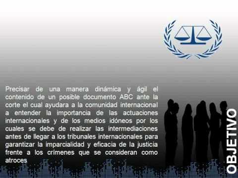 UCC_El  ABC de la corte penal internacional
