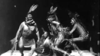 Индейцы племени сиу. Танец Буффало/Buffalo Dance/1894