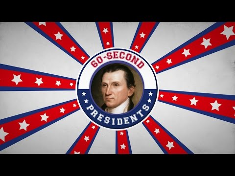James Monroe | 60-Second Presidents | PBS