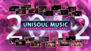 MENU / playlist - Unisoul Music Christmas Concert 2012