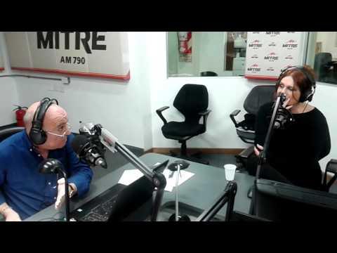 Vera Cirkovic habla sobre Edith Piaf y Paris en Radio Mitre AM 790