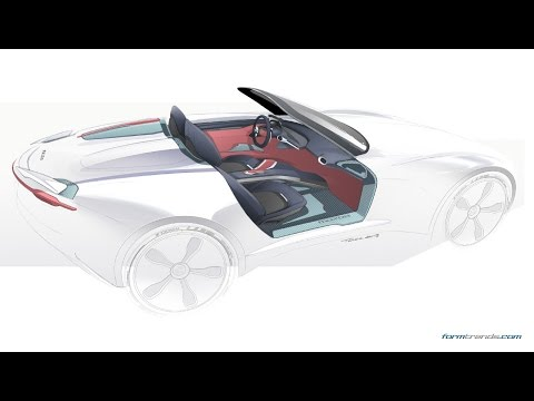 Art Center Graduate Tarek Ashour's Automotive Interior Concepts