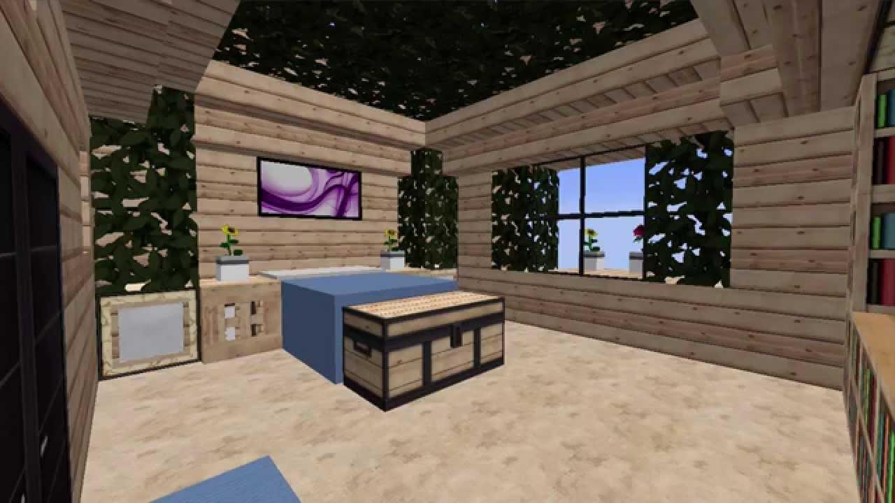 Minecraft 1 7 9 arredare la casa camera da letto for 5 piani casa mediterranea camera da letto