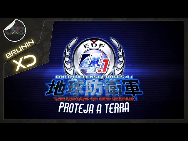 Earth defense force 4.1 - Proteja a Terra