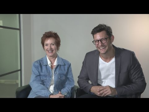 Neighbours' Jackie Woodburne & Rob Mills talk karaoke, silly storylines and Harold Bishop
