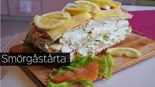 Шведская Кухня: Торт-Сэндвич / Smörgåstårta