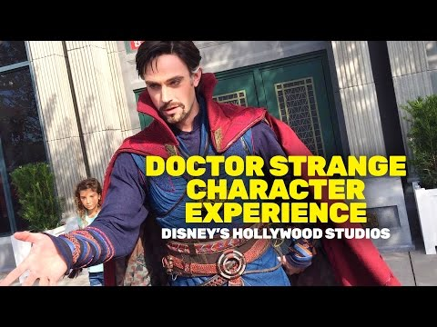 NEW! Marvel's Doctor Strange Character Experience At Walt Disney World
