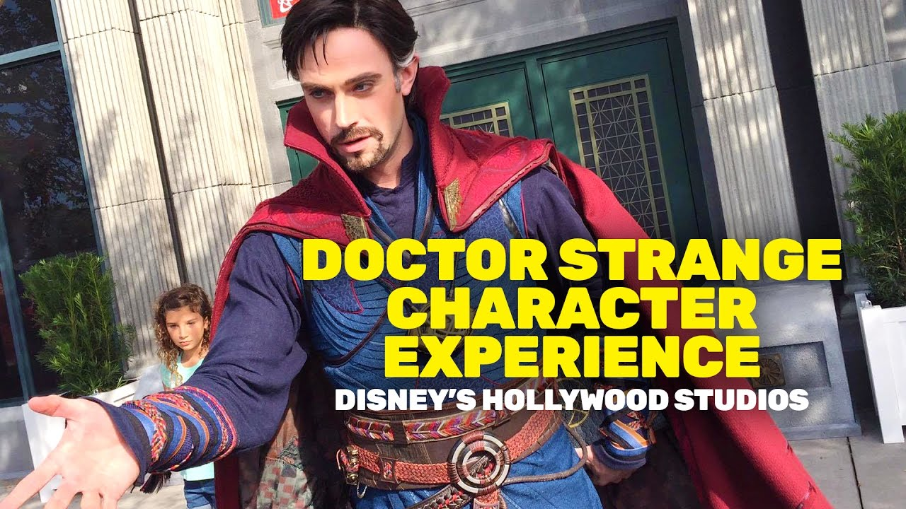 New Marvels Doctor Strange Character Experience At Walt Disney