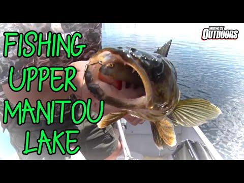 Multi-Species Fishing On Upper Manitou Lake