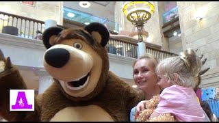 Праздник Маша и Медведь в центральном детском магазине
