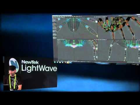 LightWave 11.5 - Genoma - New modular instant rigging system