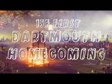 VLOG: DARTMOUTH FRESHMAN HOMECOMING 15F | JustJoelle1
