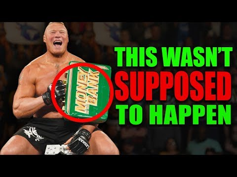 These 10 Moments Were NOT Supposed To Happen WWE Money In The Bank 2019 (Botches, Fails & Mistakes)