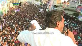 YS Jagan full speech in Public Meeting at Chimakurthi in Prakasam District